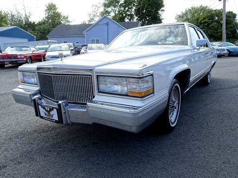 1990 Cadillac Brougham for sale at Great Lakes Classic Cars & Detail Shop in Hilton NY