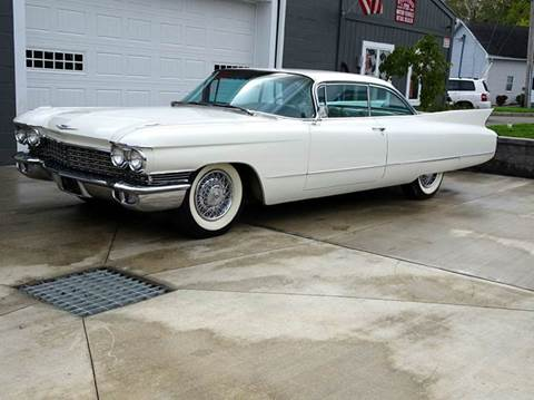 1960 Cadillac DeVille for sale at Great Lakes Classic Cars & Detail Shop in Hilton NY