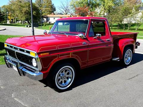 1977 Ford F-100 for sale at Great Lakes Classic Cars & Detail Shop in Hilton NY