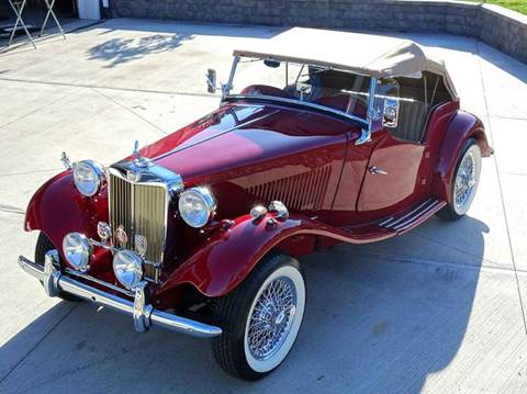 1952 MG TD for sale at Great Lakes Classic Cars in Hilton NY