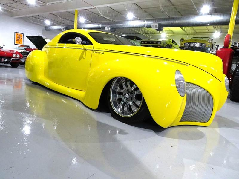 1939 Lincoln Zephyr Custom Coupe In Hilton Ny Great Lakes Classic Cars