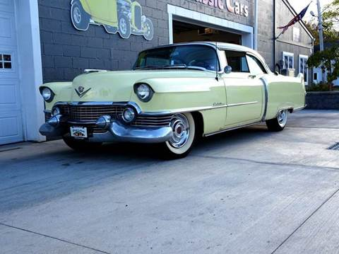 1954 Cadillac DeVille for sale at Great Lakes Classic Cars & Detail Shop in Hilton NY