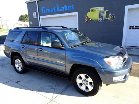 2005 Toyota 4Runner for sale at Great Lakes Classic Cars & Detail Shop in Hilton NY