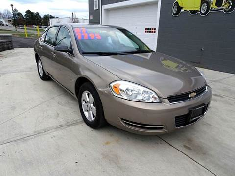 2007 Chevrolet Impala for sale at Great Lakes Classic Cars & Detail Shop in Hilton NY