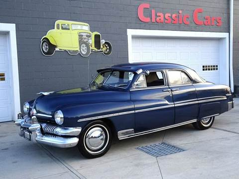 1951 Mercury Eight Sport Sedan for sale at Great Lakes Classic Cars & Detail Shop in Hilton NY