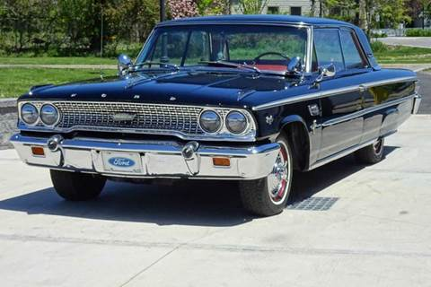 1963 Ford Galaxie 500 for sale at Great Lakes Classic Cars & Detail Shop in Hilton NY