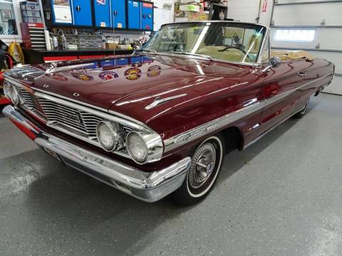 1964 Ford Galaxie 500XL for sale at Great Lakes Classic Cars & Detail Shop in Hilton NY