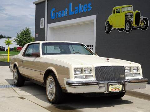 1983 Buick Riviera for sale at Great Lakes Classic Cars & Detail Shop in Hilton NY