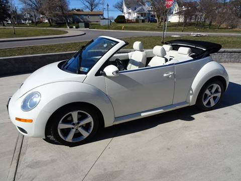 2007 Volkswagen New Beetle for sale at Great Lakes Classic Cars in Hilton NY