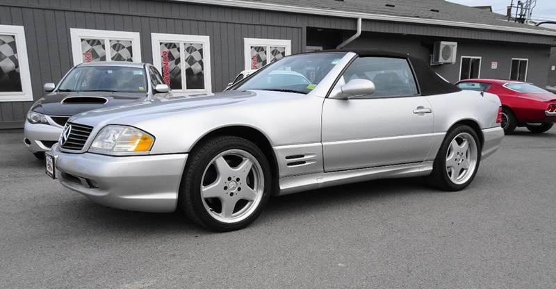 2002 Mercedes-Benz SL-Class for sale at Great Lakes Classic Cars & Detail Shop in Hilton NY