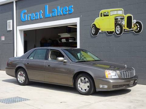 2000 Cadillac DeVille for sale at Great Lakes Classic Cars & Detail Shop in Hilton NY