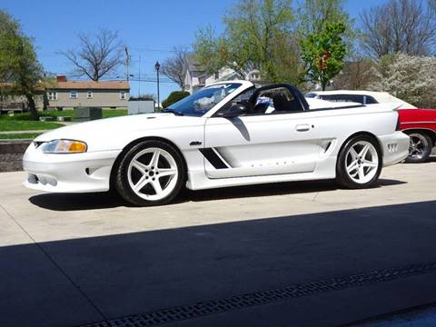 1997 Ford Mustang for sale at Great Lakes Classic Cars in Hilton NY