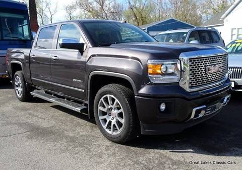 2015 GMC Sierra 1500 for sale at Great Lakes Classic Cars & Detail Shop in Hilton NY