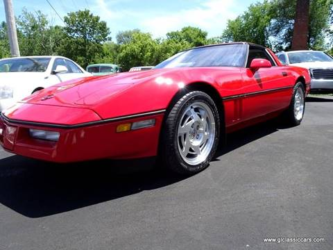 1990 Chevrolet Corvette for sale at Great Lakes Classic Cars in Hilton NY