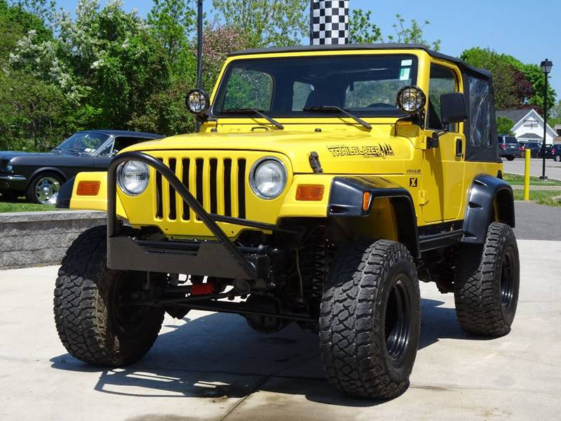 2002 Jeep Wrangler for sale at Great Lakes Classic Cars & Detail Shop in Hilton NY