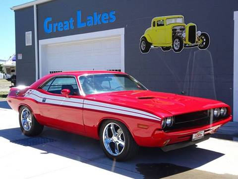 1971 Dodge Challenger for sale at Great Lakes Classic Cars & Detail Shop in Hilton NY