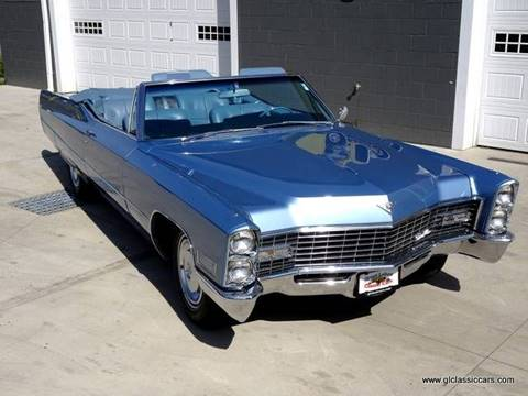 1967 Cadillac DeVille for sale at Great Lakes Classic Cars in Hilton NY