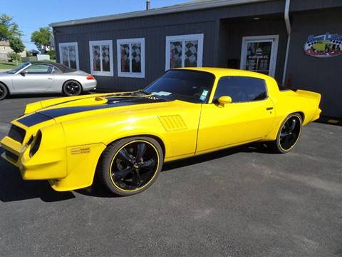 1979 Chevrolet Camaro for sale at Great Lakes Classic Cars & Detail Shop in Hilton NY
