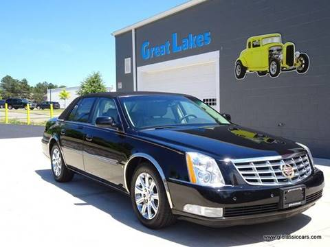 2008 Cadillac DTS for sale at Great Lakes Classic Cars in Hilton NY