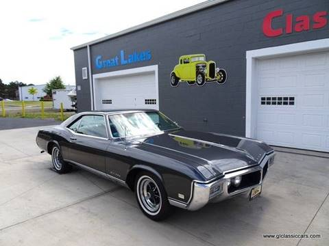 1968 Buick Riviera for sale at Great Lakes Classic Cars & Detail Shop in Hilton NY