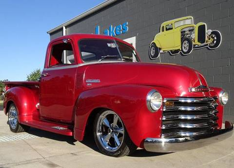 1949 Chevrolet 3100 for sale at Great Lakes Classic Cars & Detail Shop in Hilton NY