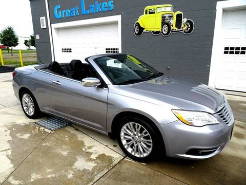 2013 Chrysler 200 Convertible for sale at Great Lakes Classic Cars in Hilton NY