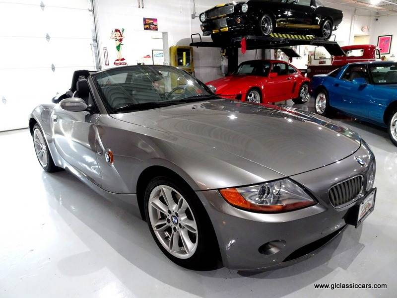 2004 BMW Z4 for sale at Great Lakes Classic Cars & Detail Shop in Hilton NY