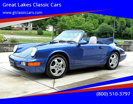 1993 Porsche 911 for sale at Great Lakes Classic Cars in Hilton NY
