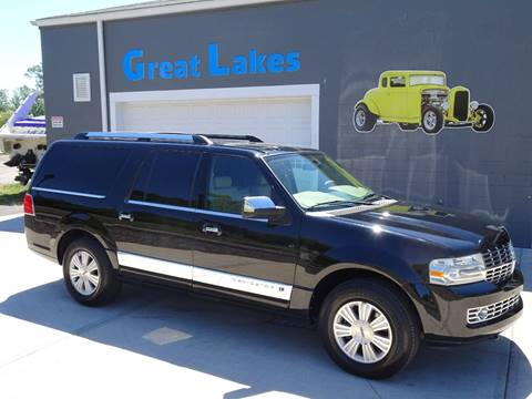 2009 Lincoln Navigator L for sale at Great Lakes Classic Cars & Detail Shop in Hilton NY