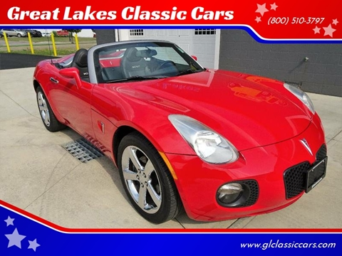 2008 Pontiac Solstice for sale at Great Lakes Classic Cars in Hilton NY