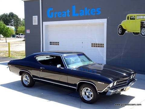 1969 Chevrolet Chevelle Malibu for sale at Great Lakes Classic Cars & Detail Shop in Hilton NY