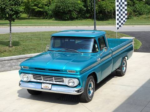 1962 Chevrolet C/K 20 Series for sale at Great Lakes Classic Cars & Detail Shop in Hilton NY