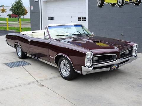 1966 Pontiac GTO for sale at Great Lakes Classic Cars in Hilton NY