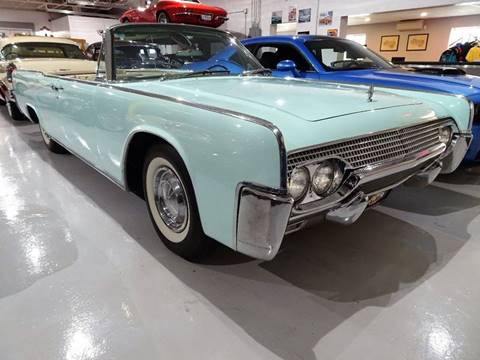 1961 Lincoln Continental for sale at Great Lakes Classic Cars in Hilton NY