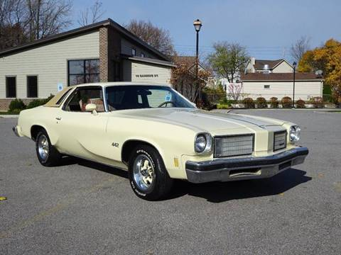 1975 Oldsmobile Cutlass Salon for sale at Great Lakes Classic Cars in Hilton NY