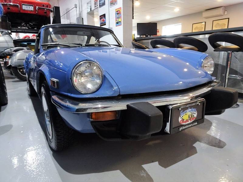 1976 Triumph Spitfire Convertible In Hilton Ny Great Lakes Classic