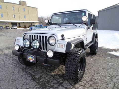 2002 Jeep Wrangler for sale at Great Lakes Classic Cars in Hilton NY