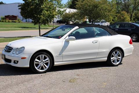 2007 Mercedes-Benz CLK for sale at Great Lakes Classic Cars & Detail Shop in Hilton NY