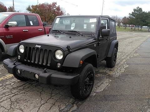 2018 Jeep Wrangler for sale at Great Lakes Classic Cars in Hilton NY