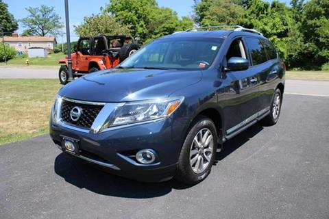 2014 Nissan Pathfinder for sale at Great Lakes Classic Cars & Detail Shop in Hilton NY