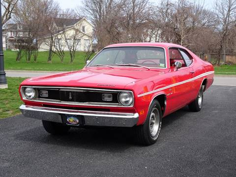 black beauty 1974 plymouth duster 2door hardtop coupe powered new