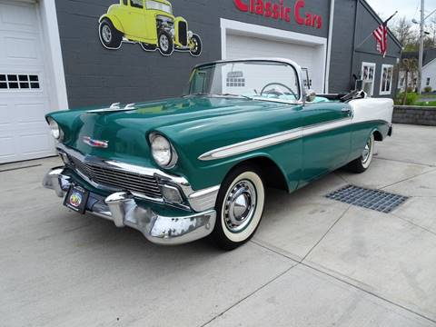 1956 Chevrolet Bel Air for sale at Great Lakes Classic Cars in Hilton NY