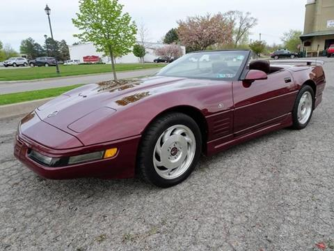 1993 Chevrolet Corvette for sale at Great Lakes Classic Cars & Detail Shop in Hilton NY