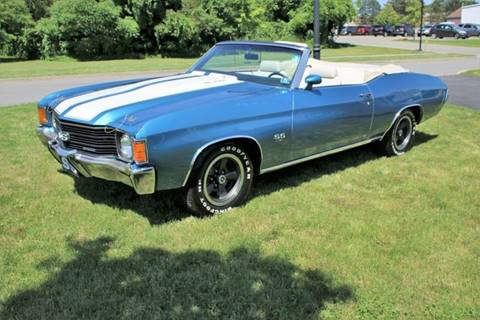 1972 Chevrolet Chevelle for sale at Great Lakes Classic Cars in Hilton NY