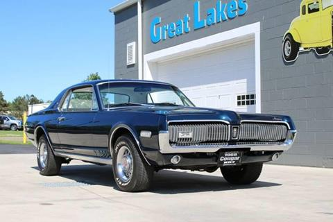 1968 Mercury Cougar for sale at Great Lakes Classic Cars & Detail Shop in Hilton NY