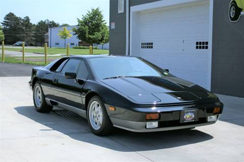 1988 Lotus Esprit Turbo for sale at Great Lakes Classic Cars in Hilton NY