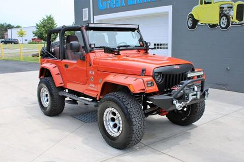 2005 Jeep Wrangler for sale at Great Lakes Classic Cars in Hilton NY