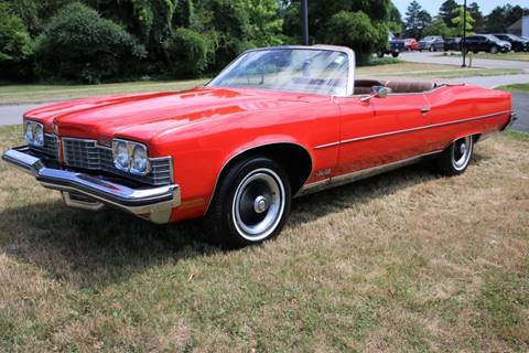 1973 Pontiac Grand Ville for sale at Great Lakes Classic Cars in Hilton NY