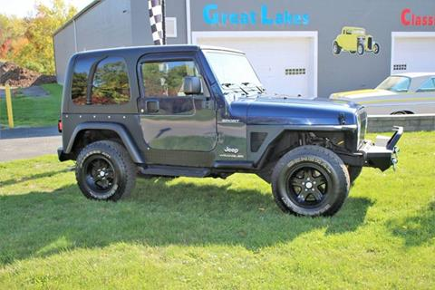 2006 Jeep Wrangler for sale at Great Lakes Classic Cars & Detail Shop in Hilton NY