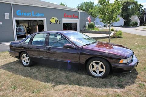 1996 Chevrolet Impala for sale at Great Lakes Classic Cars in Hilton NY
